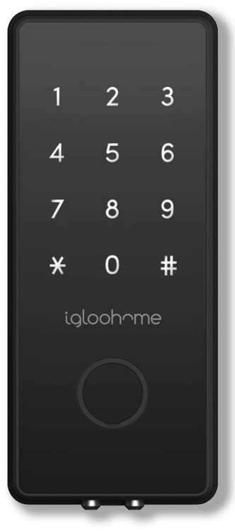 igloohome Smart Electronic Bluetooth Deadbolt 2S Metal Grey with Pin Codes that Allow Access Offline.