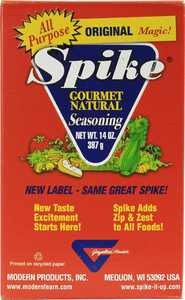 Modern Products Spike Gourmet Natural Seasoning - Original Magic - Box - 14 oz