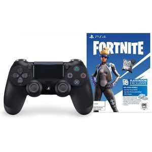 Sony PlayStation 4 DualShock 4 Wireless Controller, Fortnite Jet Black