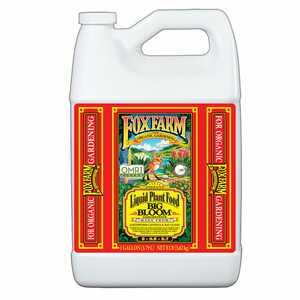 FoxFarm Big Bloom Liquid Concentrate Plant Food Formula, 1 Gallon   FX14003