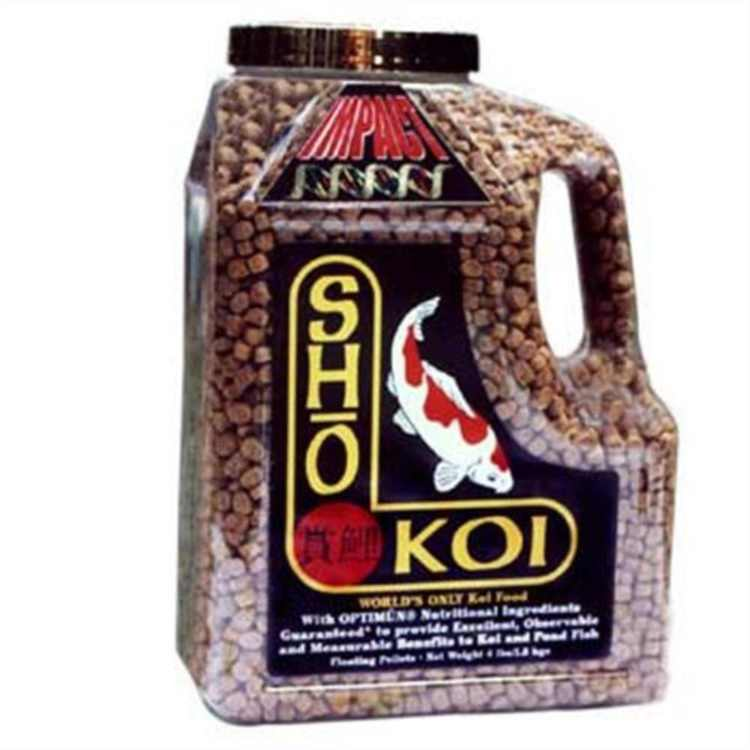 Atk00132 Sho Koi Impacount Small Floating Pellet, 2-Pound, Contains 1- 2Lb Pack By Total Koi Inc