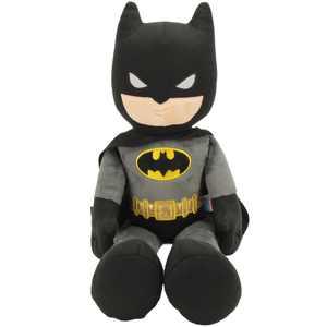 "Dc comics justice league's plush batman | 21"" collectible batman superhero plush doll | 10"" x 20"" x 21"" | made by animal adventure"