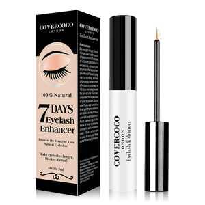 Eyelash Growth Serum 5ml for Thicker, Longer Eyelashes & Full Eyebrows Lash Accelerator Serum