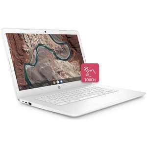 "HP 14-db0070nr Snow White Touch Chromebook, 14"" HD, AMD A4-9120, UMA Graphics, 32GB, 4GB Memory"