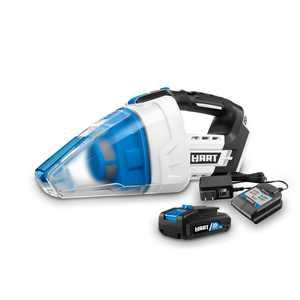 HART 20-Volt Cordless Workshop Hand Vacuum Kit (1) 20-Volt 1.5Ah Lithium-Ion Battery