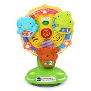 VTech Lil' Critters Spin and Discover Ferris Wheel, Toddler Learning Toy
