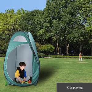 Zimtown Pop up Tent Portable Outdoor Shower Fitting Changing Room for Camping