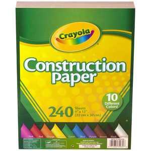 240-Count Crayola Construction Paper, 2-Pack Bundle
