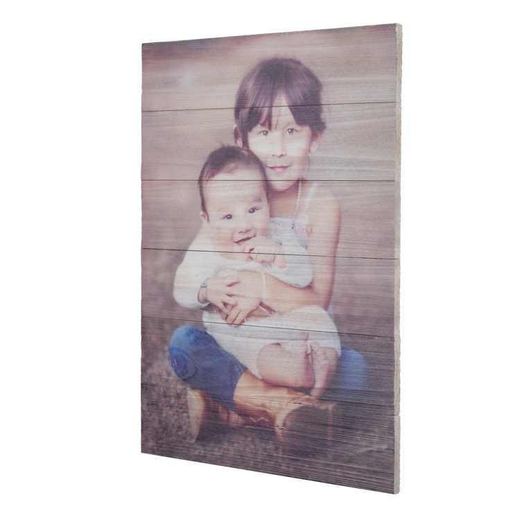 12x16 Rustic Photo Wall Decor