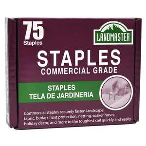 Landmaster Fabric & Garden Staples 75pk
