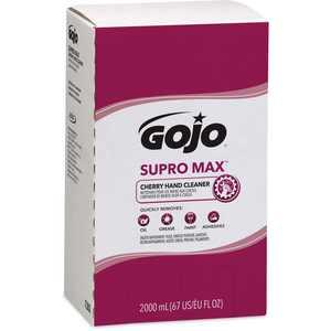 Gojo, GOJ728204, Supro Max Cherry Hand Cleaner, 1 Each, Tan, 67.6 fl oz (2 L)