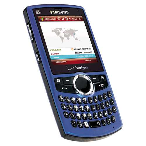Samsung Saga SCH-i770 Replica Dummy Phone / Toy Phone (Blue) (Bulk Packaging)