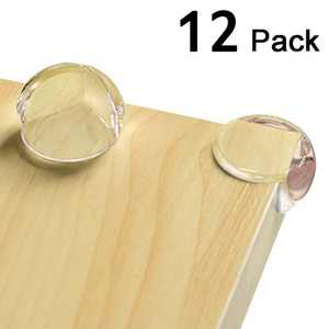 12Pcs Corner Guards Baby Proofing Safety Clear Corner Protectors Keep Child Safe Protectors For Furniture Against Sharp Corners