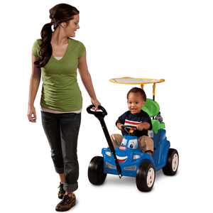 Little Tikes Deluxe 2-in-1 Cozy Roadster for Toddlers