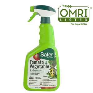 Safer Brand Tomato & Vegetable 3-in-1 Garden Spray - 32 oz