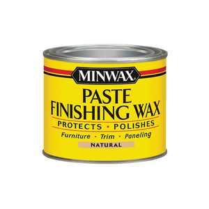 Minwax Paste Finishing Wax Natural, 1-Lb