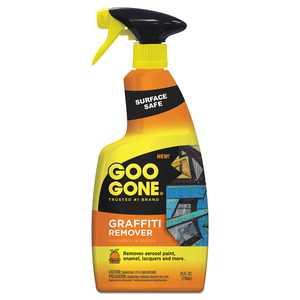 Goo Gone Graffiti Remover Spray Bottle, 24 oz.