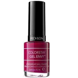 Revlon ColorStay Gel Envy Longwear Nail Enamel, Roulette Rush, 0.4 Fl Oz (1 Count)
