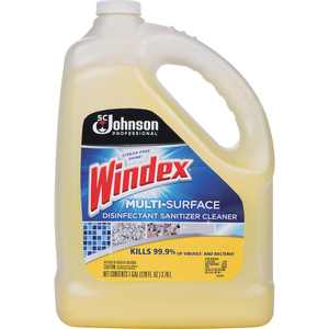 Windex, SJN682265, Multi-Surface Disinfectant Sanitizer Cleaner, 1 Each, Yellow