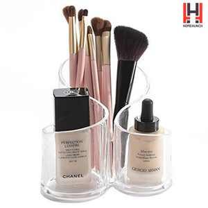 HomeHunch Makeup Organizer Make Up Stand Brush Holder For Perfume