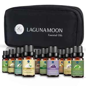 Lagunamoon, 100% Pure Essential Oil Set, Aromatherapy, 10-pack