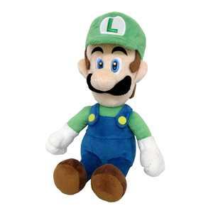 """Super Mario - Luigi 10"""" Plush"""
