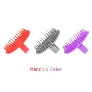 Shampoo Brush Comb Anti-Dandruff Anti-skid Hairbrush Scalp Massage Comb Body Hair Shower Cleaning Tool