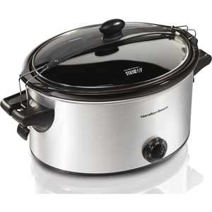 Hamilton Beach Stay or Go 6 Quart Slow Cooker | Model# 33262