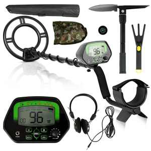 Gymax High Accuracy Metal Detector Kit W/Display Waterproof Search Coil Headphone Bag