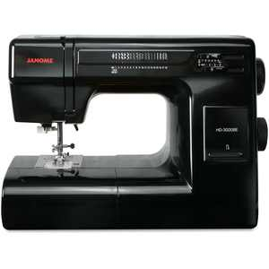 Janome HD3000BE Heavy Duty Sewing Machine w/ 18 stitches