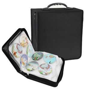 320 Disc CD DVD Organizer Holder Storage Case Bag Wallet Album Media Video