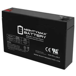 6V 7Ah SLA Battery for BMW i8 Concept Ride-On Car MODEL # 8801-93