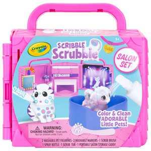Crayola Scribble Scrubbie Pets Salon Set, Child, Unisex