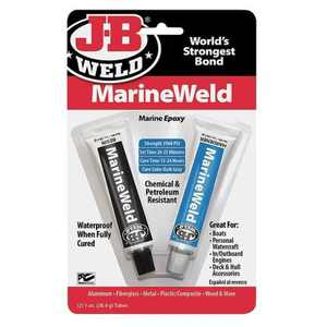 J-B WELD 8272 Epoxy Adhesive, Tube, 1.0 oz, Gray, 6 hr