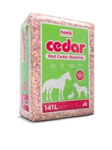 Pets Pick 141L Cedar Bedding, Better Absorption, 5 cu ft