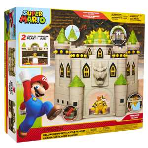 "Nintendo 2.5"" Bowser Castle Playset"