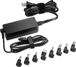 Insignia - 65 W Charger for Select Laptops & Ultrabooks - Black