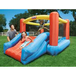 Little Tikes Jr. Jump 'n Slide Bouncer - Inflatable Jumper Bounce House