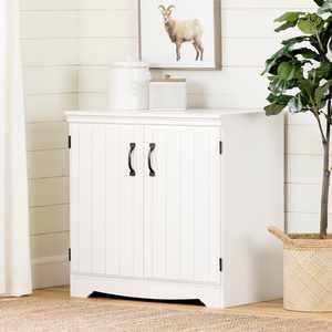 South Shore Farnel 2-Door Storage Cabinet, White