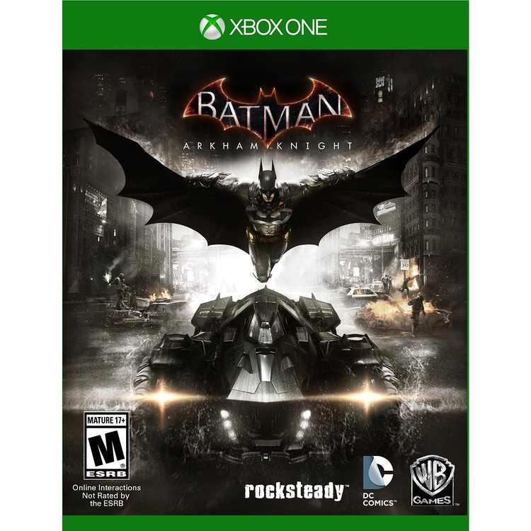 Warner Brothers Batman: Arkham Knight Xbox One, [Physical], 883929468331