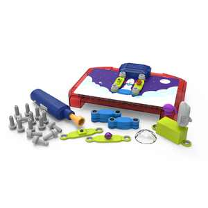 Educational Insights Building Space Circuits - Science & STEM Toy, 52 Piece Kit, Kids Ages 5+