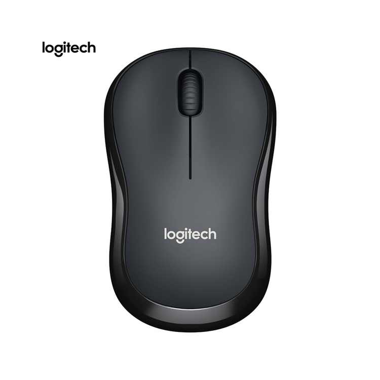 Logitech M220 Wireless Wifi Mouse Ergonomic Silent Mobile Computer Mouse with 2.4G Receiver Grey