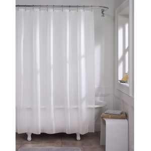 "Zenna Home Super Heavyweight Premium 10-Gauge Shower Curtain or Liner 72"" x 72"""