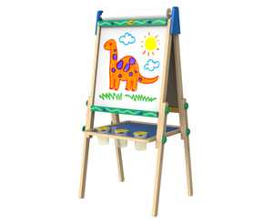 Crayola Kids' Dual-Sided Wooden Art Easel