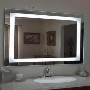 "Ktaxon Anti-fog Wall Mounted Lighted Vanity Mirror LED Bathroom Mirror Anti Fog and IP67 Waterproof,Rectangle 40""x24"""