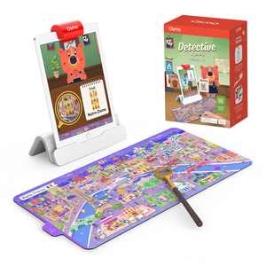 Osmo - Detective Agency Starter Kit for iPad - Solve International Mysteries - Ages 5-12