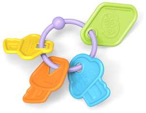 Green Toys First Keys, Teether