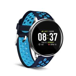 iTouch Sport Smartwatch Fitness Tracker Heart Rate Step Counter Sleep Monitor Messages IP68 Swimming Waterproof for Women and Men up to 30 Day Battery Touch Screen Compatible w Android & IOS (43mm)