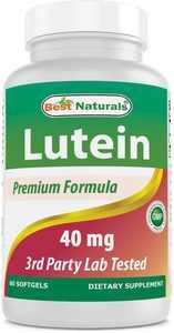 Best Naturals Lutein 40mg 60 Softgels