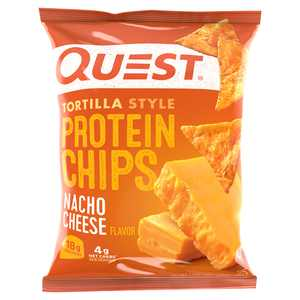 Quest Nacho Cheese Flavor Tortilla Style Protein Chips, 1.1 oz